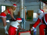 Gangbang at Santa Claus's workshop